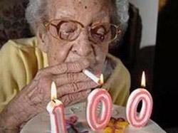 Бросить курить можно даже после 95 лет курения