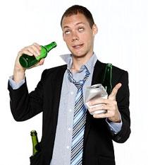 Алкоголь может сделать вас более креативным, но также… пьяным