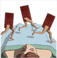 Может ли шоколад нарушить ваш сон?