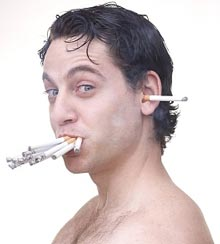 Курение способно понизить интеллект