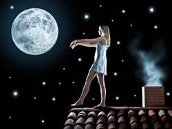 Лунатизм - походы во сне, а не наяву