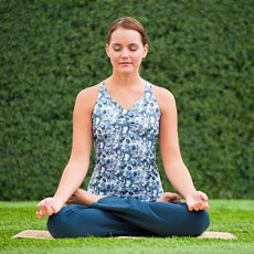 Медитация подарит спокойствие и умиротворение