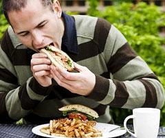 Торопливый приём пищи – шаг навстречу диабету