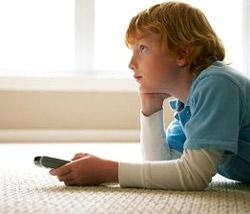 В задержке развития речи у детей виноват телевизор