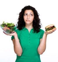 Женщинам сложнее соблюдать диету, нежели мужчинам